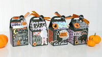 Bootiful Night Halloween Milk Carton Treat Boxes