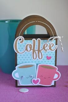 treat bag gift card holder