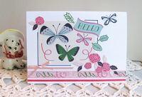 Note Card Butterflies