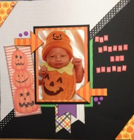 The Cutest Lil Punkin (Oct 2017 Pattern Paper and Book Lovers Challenge)