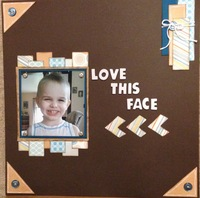 Love This Face (Oct 2017 Guest Designer Challenge #2)