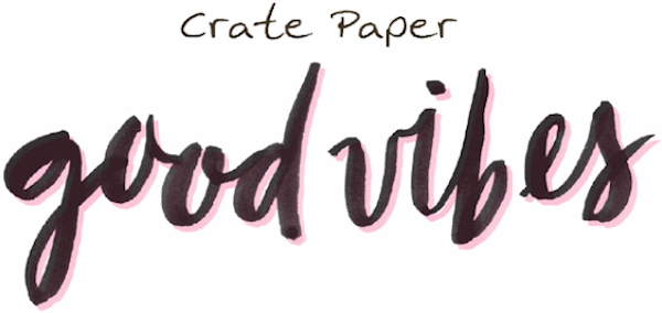 Good Vibes Crate Paper