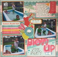 Blow Up Pool Party