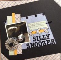 Silly Snoozer (Oct 2017 Guest Designer Challenge #4)