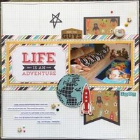 Life Is An Adventure (CW Week 3 Sher's layout)