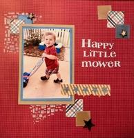Happy Little Mower