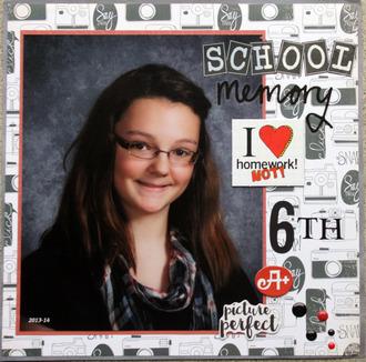 School Memory Abby 6th grade