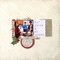 Nov. Scraplift the GD and Patterned Paper Challenges