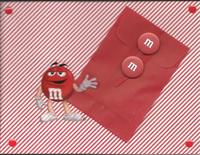 m & m Red