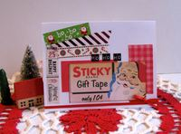 Christmas Card Tape