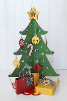 Christmas Countdown Advent Calendar Tree
