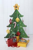 Christmas Countdown Advent Calendar Tree
