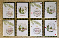 Christmas Shaker Cards