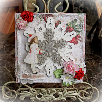 A Joyful Christmas Card *Reneabouquets*
