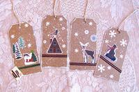 Christmas Tags Kraft