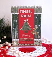 Christmas Card Tinsel