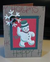 Snowman Card 2017