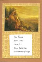 "More "" Be Strong"" cards"