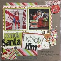 OMG Santa I Know Him