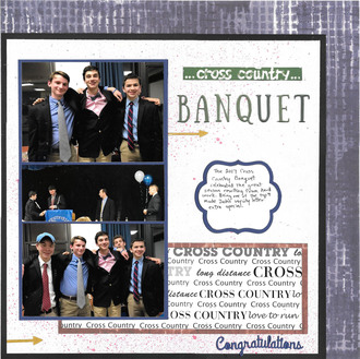 Cross Country Banquet