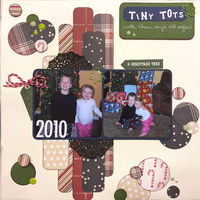 TiNy TOts (Dec 2017 3 In A Row and Mood Board Challenges)