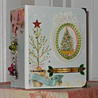 Carousel Christmas Mini Photo/Memory Album