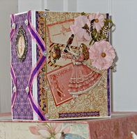 Nutcracker Sweet Mini Photo/Memory Album