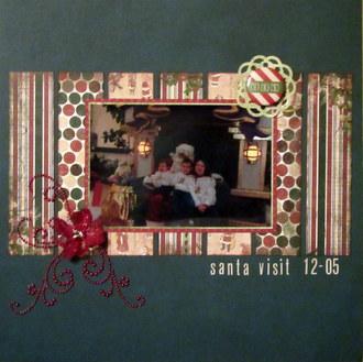 Santa Visit 12-05