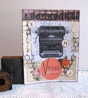 Note Card Typewriter