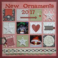 New Ornaments 2017