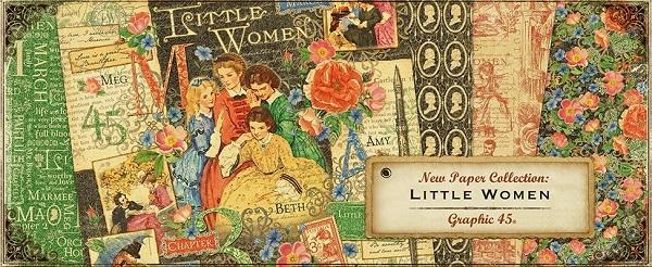 Little Women Graphic 45