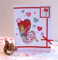 Valentine Card Swing