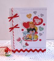 Valentine Card Sewing