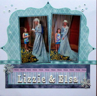 Lizzie and Elsa