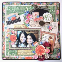 Little Women - Sisters Layout