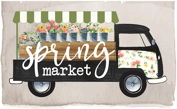 Spring Market Carta Bella Echo Park