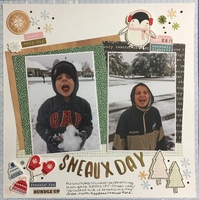 Sneaux Day (30/30 Day 9)
