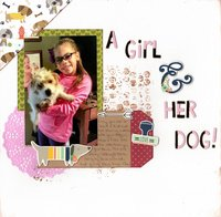 A Girl & Her Dog!