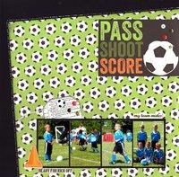 Pass Shoot Score