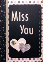 Miss You (Jan 2018 Card Challenge)