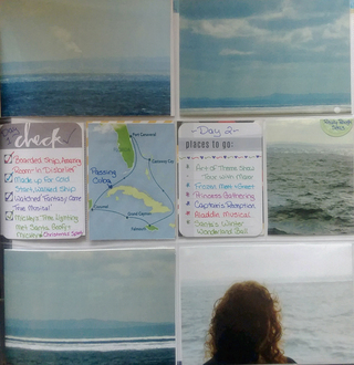 Day 1 & Day 2 Journaling of Cruise