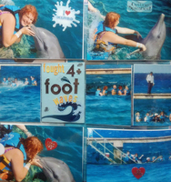 Fought 4+ Foot Waves for a Dolphin!!!