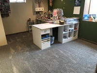 New Carpet and Floor for Scrappy Room - Complete
