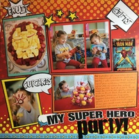 My Super Hero Party