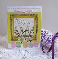 Easter Card Rabbits