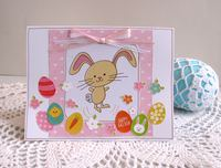 Easter Card LG Rabbit