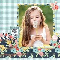 Welcome Spring layout by Simple Stories Designers