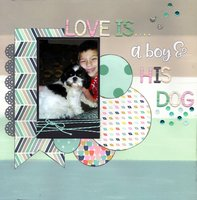 Love is...A Boy & His Dog