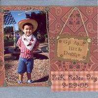 PreK Rodeo Day - Fiber Challenge