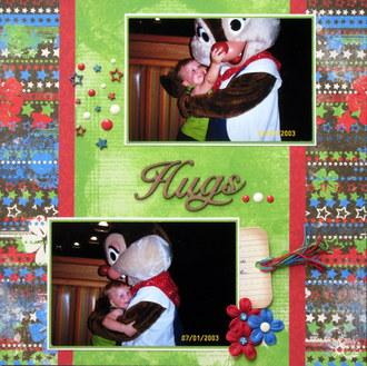 Hugs -Chip N Dale